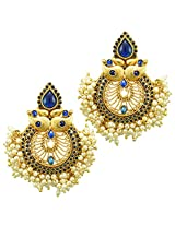 Ethnic Indian Bollywood Jewelry Set Traditional Fashion EarringsABEA0307BL