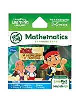 LeapFrog Explorer Learning Game Jake and the Never Land Pirates