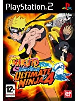 Naruto Shippuden: Ultimate Ninja 4 (PS2)