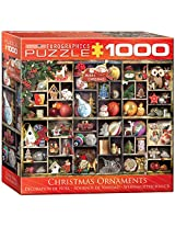 Euro Graphics Small Box Christmas Ornaments Puzzle (1000 Piece)
