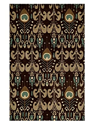 Momeni Habitat Collection Rug (Chocolate)