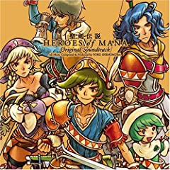 �����`�� HEROES OF MANA Original Soundtrack
