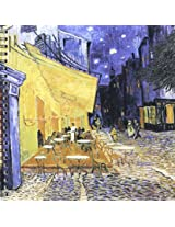 3dRose db1496871 Terrace of a Cafe at Night by Vincent Van Gogh-Drawing Book, 8 by 8-Inch