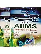 Review of AIIMS PGMEE Vol 1A & 1B (2vol set), 13E