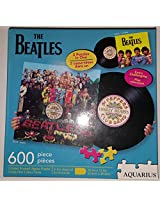 Aquarius The Beatles 2 Sided Shaped 600 Piece Jigsaw Puzzle