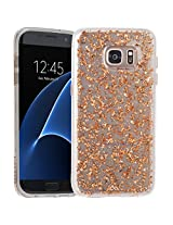 Case-Mate Karat Hard Back Case Cover for Samsung Galaxy S7 Edge - Rose Gold