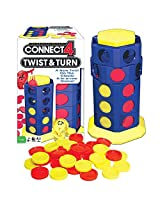 Connect 4 Twist And Turn Board Game New Twist On The Classic 4 In A Row
