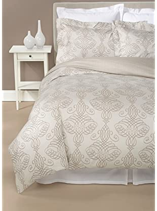 Peacock Alley Shadow Duvet Cover Set (Walnut)