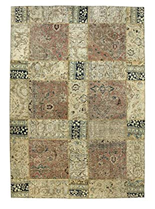 Bashian Rugs One-of-a-Kind Hand Knotted Paki Patchwork Rug, Multi, 7' x 10'