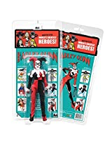 D.C Comics Retro Kresge Style Action Figure Series 3; Harley Quinn