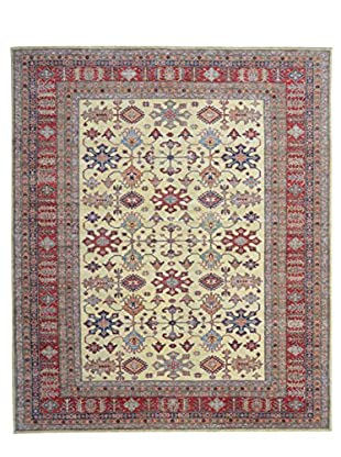 Kalaty One-of-a-Kind Kazak Rug, Ivory, 8' 2