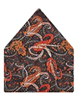 Tiekart Printed Silk Pocket Square (Ps375_Multi)