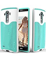 LG G4 case Caseology [Wavelength Series] [Turquoise Mint] Textured Pattern Grip Cover [Shock Proof] LG G4 case