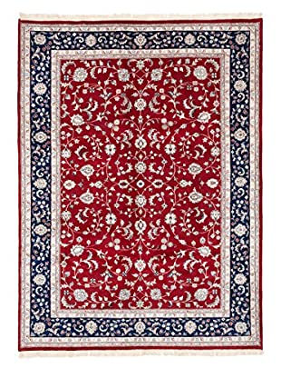 eCarpet Gallery One-of-a-Kind Hand-Knotted Royal Kashan Rug, Red, 8' 5