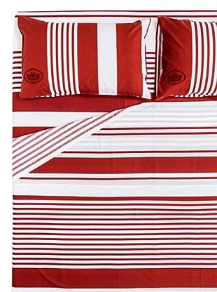 Ballantyne Completo letto Dream (bianco/rosso)