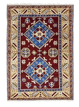 Darya Rugs Kazak Oriental Rug, Blue, 6' 1
