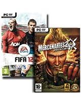 FIFA 12 + Mercenaries 2: World in Flames Bundle (PC DVD)