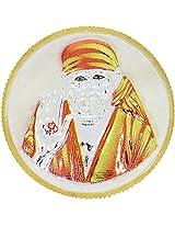 LGW Shri Shirdi Sai Baba Silver Precious Coin for Unisex (10Grams)