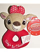Babys First Christmas Ring Rattle - Clarice