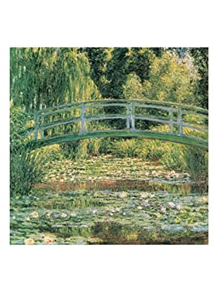 Artopweb Panel Decorativo Monet Le Pont Japonais 70x70 cm Multicolor
