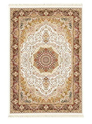 Hand Loomed King David Rug, White, 3' 11