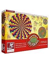 Toy Kraft Mandala Jigsaw Kaleidoscope, Multi Color