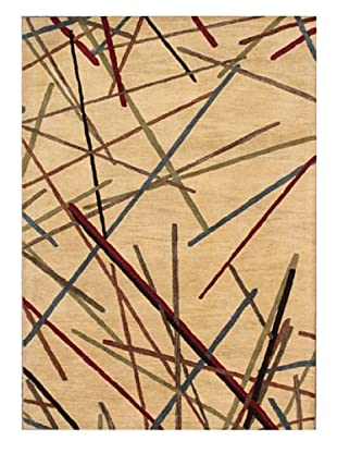 Mili Designs NYC Sticks Rug, 5' x 8'
