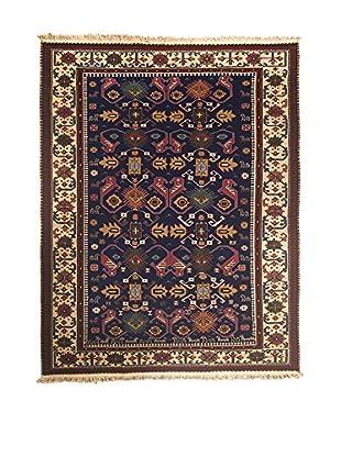RugSense Teppich Sumak blau/braun 230 x 172 cm