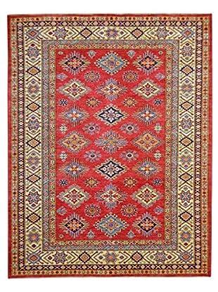 Kalaty One-of-a-Kind Kazak Rug, Red, 6' 2