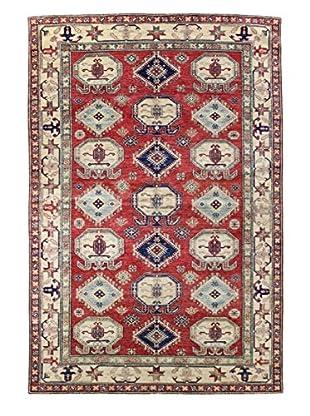 Bashian Rugs Fine Kazak Rug, Red, 5' 8
