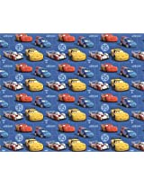 Disney Cars Design 100 GSM Wrapping Paper, Standard size - Pack of 3 | SDM-WPCA11