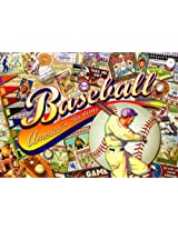 Buffalo Games Nostalgia: Baseball 500 Piece Jigsaw Puzzle By Buffalo Games By Buffalo Games