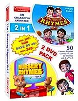 2 in 1 Rhymes Vol. 2 (2 DVD Value Pack)