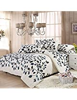 4pcs Suit Polyester Fiber Fastness Simple Style Bedding Set