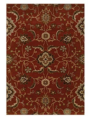 Granville Rugs Alahambra Rug (Red/Tan/Multi)
