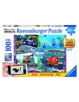 Ravensburger Finding Nemo Augmented Puzzle, Multi Color (100 Pieces)