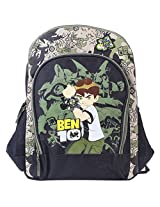 Ben 10 School Bag 16 Inches - Green
