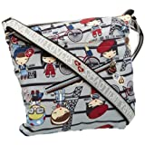 Harajuku Lovers Plaid Camper Sawyer Satchel