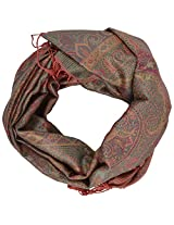 Ganesh Handicrafts Women's Silk Shawl (GH084, Multicolor)