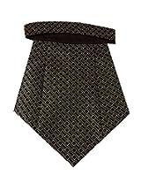 Navaksha Micro Fibre Brown Cravat