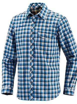 VAUDE Camisa Vanco Long Sleeve (Azul)