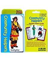 Pocket Flash Cards-Community Helpers