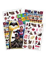 Batman V Superman Stickers ~ Batman V Superman: Dawn Of Justice ~ Over 300 Stickers: Batman, Superman, Wonder Woman, And More!