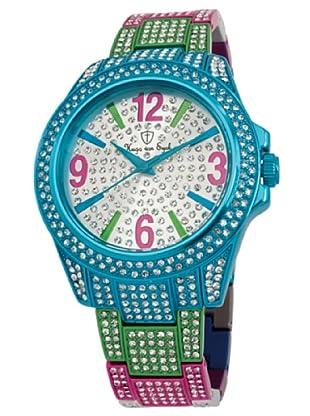 Hugo Von Eyck Reloj Amazing HE118-013A_Plata / Turquesa
