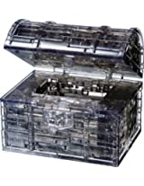 Original 3D Crystal Puzzle - Treasure Chest Black