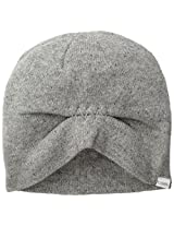 Coal Women's The Taylor Lambs Wool Blend Auto-Slouch Beanie, Heather Grey, One Size