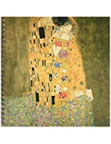 3dRose db_127171_1 The Kiss by Gustave Klimt Drawing Book, 8 by 8-Inch