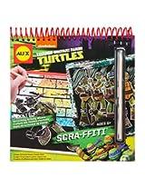Teenage Mutant Ninja Turtles Scra-ffiti Scratch Art