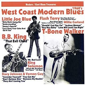 West Coast Modern Blues 1960's