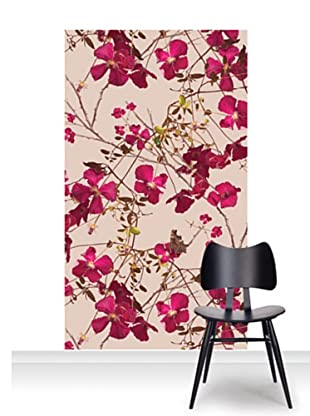 Michael Angove Clematis Claret Mural (Accent)